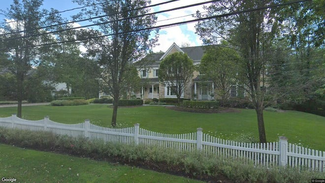 This Google Street View image shows the approximate location of 58 Rolling Ridge Road in Upper Saddle River. The property at this address changed hands in September 2019, when new owners bought the property for $1,395,000.