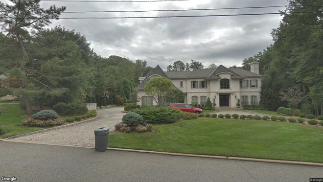 This Google Street View image shows the approximate location of 80 Glenwood Road in Upper Saddle River. The property at this address changed hands in August 2019, when new owner bought the property for $2,250,000.