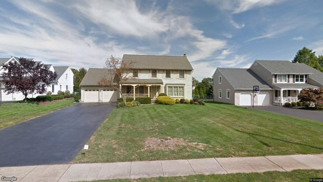 This Google Street View image shows the approximate location of 56 Wexford Drive in South Brunswick. The property at this address changed hands in January 2020, when new owners bought the property for $590,000.