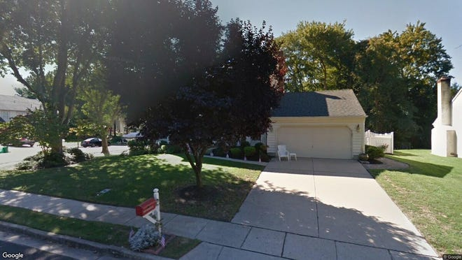 This Google Street View image shows the approximate location of 21 Telford Lane in Mount Laurel. The property at this address changed hands in December 2019, when new owners bought the property for $434,000.