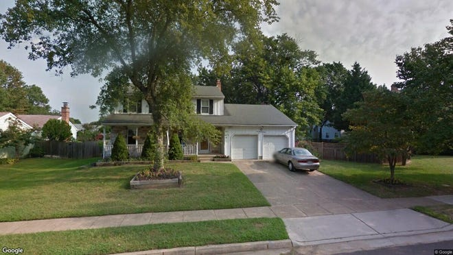 This Google Street View image shows the approximate location of 108 Cobblestone Drive in Mount Laurel. The property at this address changed hands in December 2019, when new owners bought the property for $300,000.