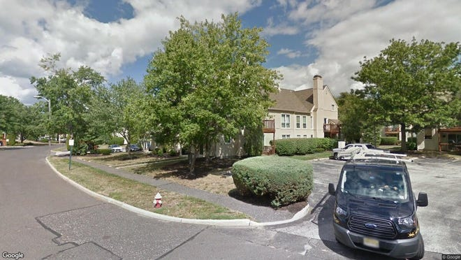 This Google Street View image shows the approximate location of 366 Woodlake Drive in Evesham. The property at this address changed hands in December 2019, when new owners bought the property for $148,000.