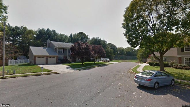 This Google Street View image shows the approximate location of 514 Meadow Court in Mount Laurel. The property at this address changed hands in December 2019, when new owners bought the property for $375,000.