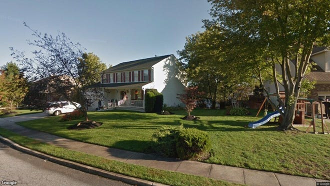 This Google Street View image shows the approximate location of 865 Hunters Drive in Deptford. The property at this address changed hands in December 2019, when new owners bought the property for $269,000.