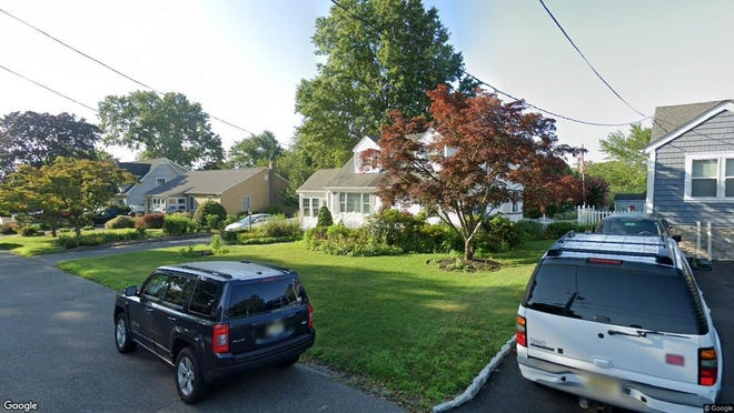 This Google Street View image shows the approximate location of 1111 Minnesink Road in Wall. The property at this address changed hands in December 2019, when new owners bought the property for $400,000.
