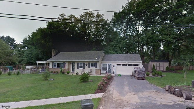 This Google Street View image shows the approximate location of 90 Shark River Road in Tinton Falls. The property at this address changed hands in January 2020, when new owner bought the property for $377,300.