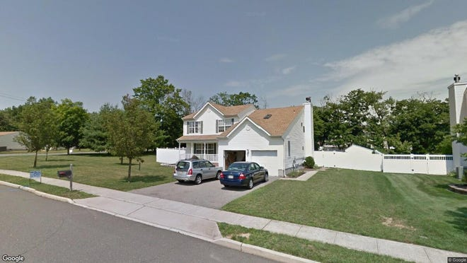 This Google Street View image shows the approximate location of 1675 Copperfield Lane in Toms River. The property at this address changed hands in January 2020, when new owners bought the property for $405,000.