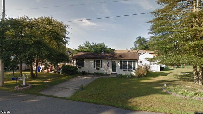 This Google Street View image shows the approximate location of 206 Theodore Court in Brick. The property at this address changed hands in November 2019, when new owner bought the property for $232,500.
