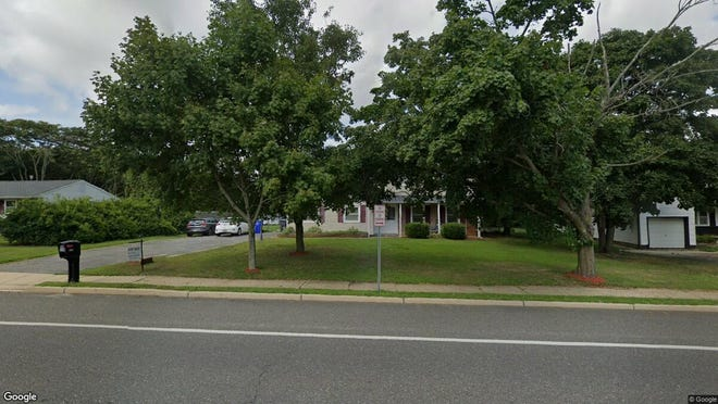This Google Street View image shows the approximate location of 1242 Old Freehold Road in Toms River. The property at this address changed hands in December 2019, when new owners bought the property for $312,000.