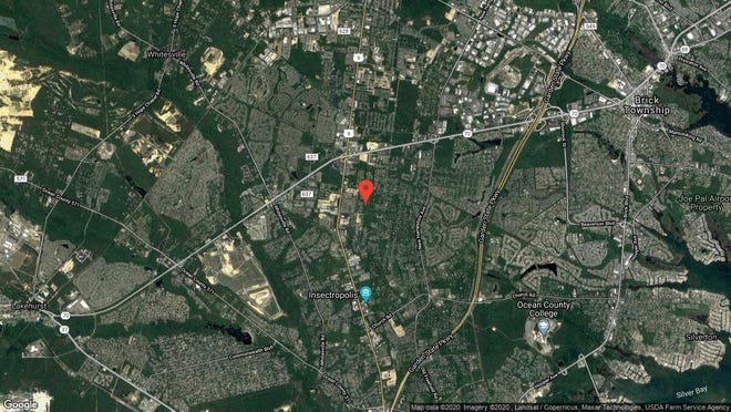 This aerial photo shows the approximate location of 1 Ann Road in Toms River. The property at this address changed hands in January 2020, when new owner bought the property for $410,000.