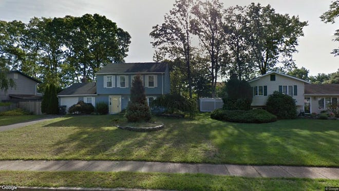 This Google Street View image shows the approximate location of 945 Green Hill Blvd. in Toms River. The property at this address changed hands in January 2020, when new owners bought the property for $270,000.