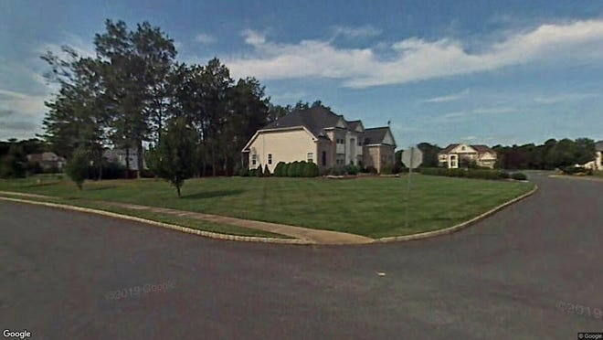 This Google Street View image shows the approximate location of 1 Muirwood Court in Jackson. The property at this address changed hands in December 2019, when new owners bought the property for $525,000.