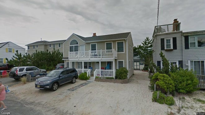 This Google Street View image shows the approximate location of 116 E. Sand Dune Lane in Long Beach Township. The property at this address changed hands in January 2020, when new owner bought the property for $959,000.