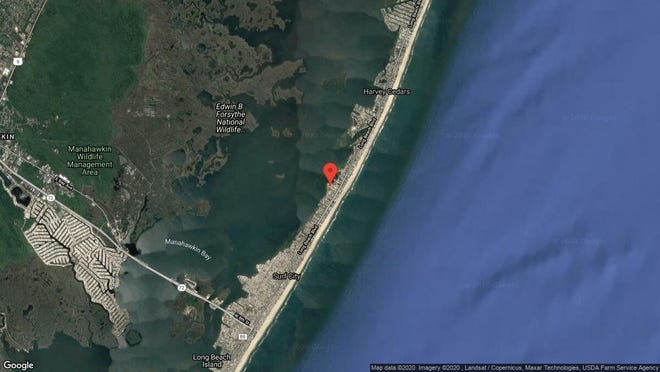 This aerial photo shows the approximate location of 1102H Long Beach Blvd. in Long Beach Township. The property at this address changed hands in January 2020, when new owners bought the property for $885,000.