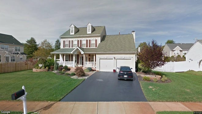 This Google Street View image shows the approximate location of 58 Fallsington Place in Howell. The property at this address changed hands in January 2020, when new owner bought the property for $507,000.