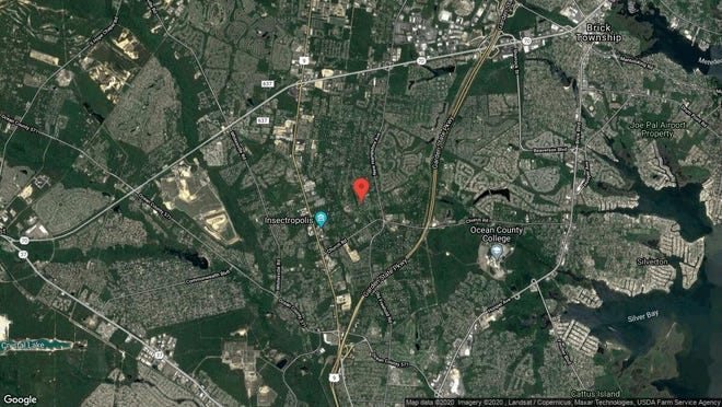 This aerial photo shows the approximate location of 1821 Tall Ships Court in Toms River. The property at this address changed hands in January 2020, when new owners bought the property for $735,000.