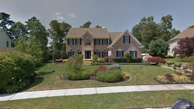 This Google Street View image shows the approximate location of 1610 Whispering Woods Way in Vineland. The property at this address changed hands in January 2020, when new owners bought the property for $650,000.