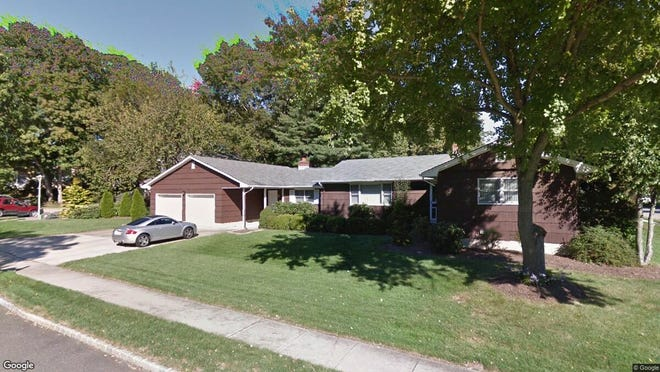 This Google Street View image shows the approximate location of 2 Crestwood Court in Spotswood. The property at this address changed hands in January 2020, when new owners bought the property for $378,000.