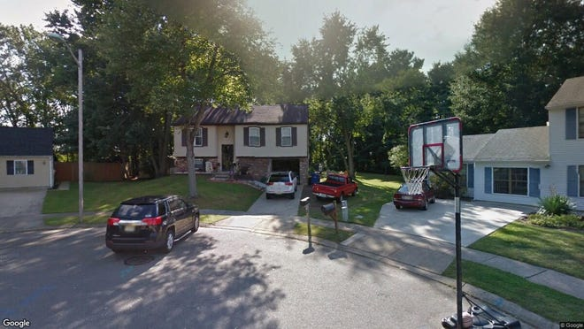 This Google Street View image shows the approximate location of 7 Dover Court in Westampton. The property at this address changed hands in November 2019, when new owner bought the property for $255,000.