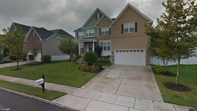 This Google Street View image shows the approximate location of 9 Crofton Chase Court in Evesham. The property at this address changed hands in January 2020, when new owners bought the property for $700,000.