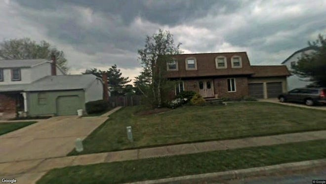 This Google Street View image shows the approximate location of 1608 Prince Drive in Cherry Hill. The property at this address changed hands in October 2019, when new owners bought the property for $323,000.
