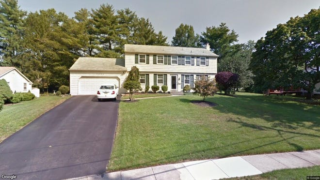 This Google Street View image shows the approximate location of 1925 Cardinal Lake Drive in Cherry Hill. The property at this address changed hands in November 2019, when new owners bought the property for $290,000.
