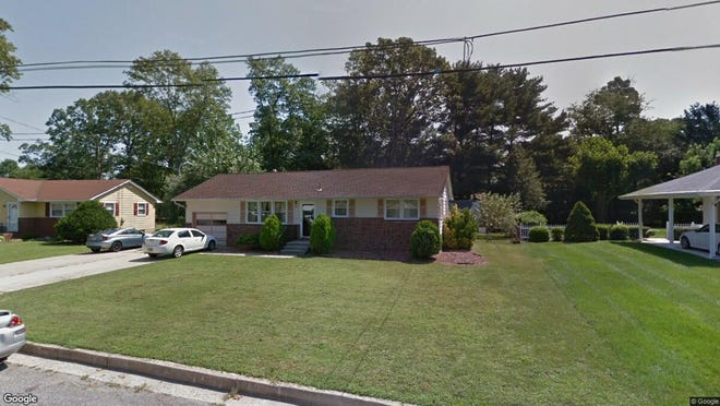 This Google Street View image shows the approximate location of 1243 S. Harding Road in Vineland. The property at this address changed hands in December 2019, when new owners bought the property for $159,000.