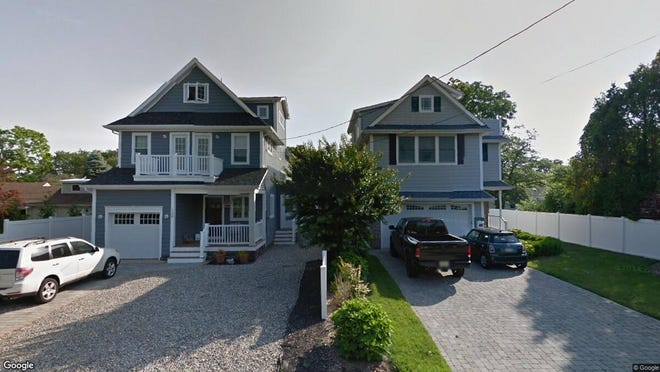 This Google Street View image shows the approximate location of 104 Ocean Ave. in Brielle. The property at this address changed hands in February 2020, when new owners bought the property for $996,000.