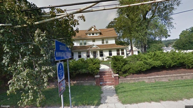 This Google Street View image shows the approximate location of 34 Memorial Pkwy in Atlantic Highlands. The property at this address changed hands in December 2019, when new owners bought the property for $390,000.