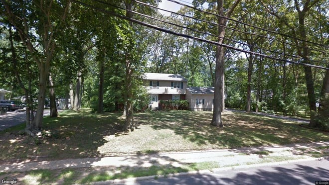 This Google Street View image shows the approximate location of 765 Nut Swamp Road in Middletown. The property at this address changed hands in February 2020, when new owners bought the property for $515,000.