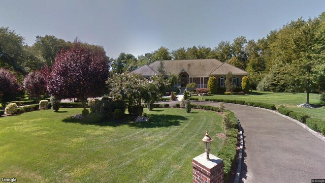 This Google Street View image shows the approximate location of 9 Greenbriar Lane in Millstone. The property at this address changed hands in January 2020, when new owners bought the property for $675,000.
