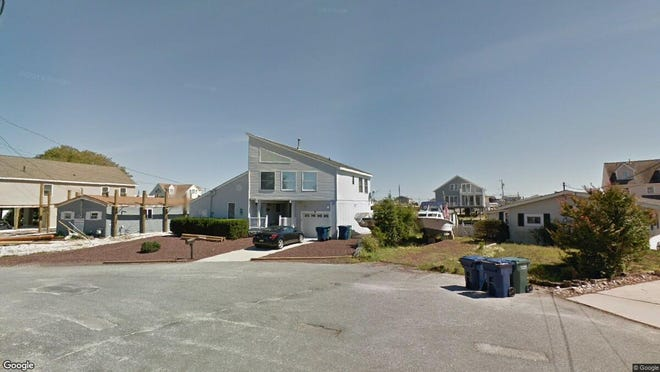 This Google Street View image shows the approximate location of 47 S. Ensign Drive in Little Egg Harbor. The property at this address changed hands in February 2020, when new owner bought the property for $270,000.