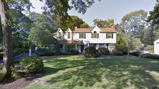 This Google Street View image shows the approximate location of 77 Canaan Place in Allendale. The property at this address changed hands in October 2019, when new owners bought the property for $897,000.