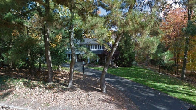 This Google Street View image shows the approximate location of 631 Pawnee Lane in Franklin Lakes. The property at this address changed hands in October 2019, when new owners bought the property for $831,000.