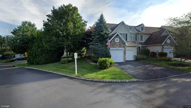 This Google Street View image shows the approximate location of 130 Patriot Hill Drive in Bernards. The property at this address changed hands in December 2019, when new owners bought the property for $659,000.
