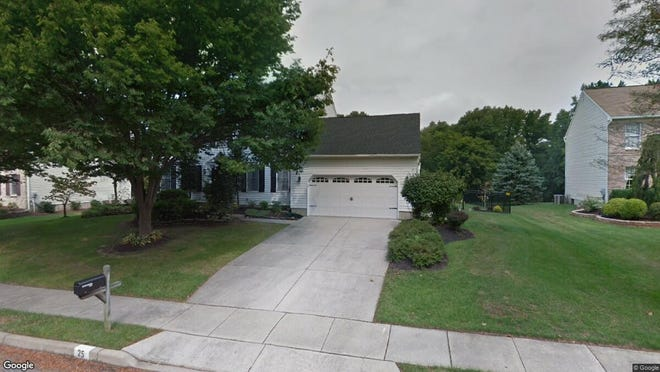 This Google Street View image shows the approximate location of 25 Abington Road in Mount Laurel. The property at this address changed hands in January 2020, when new owners bought the property for $463,000.