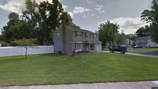 This Google Street View image shows the approximate location of 6 Arrowhead Drive in Evesham. The property at this address changed hands in January 2020, when new owners bought the property for $310,000.
