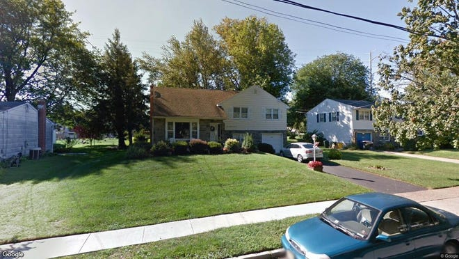 This Google Street View image shows the approximate location of 366 Boxwood Lane in Cinnaminson. The property at this address changed hands in January 2020, when new owners bought the property for $245,000.