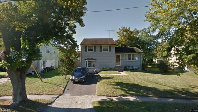 This Google Street View image shows the approximate location of 228 Aman Ave. in Lindenwold. The property at this address changed hands in November 2019, when new owners bought the property for $140,000.
