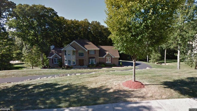 This Google Street View image shows the approximate location of 27 Kern Drive in Mount Olive. The property at this address changed hands in January 2020, when new owners bought the property for $565,000.