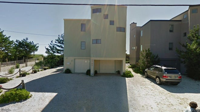 This Google Street View image shows the approximate location of 6703 Ocean Blvd. in Long Beach Township. The property at this address changed hands in January 2020, when new owner bought the property for $1,525,000.