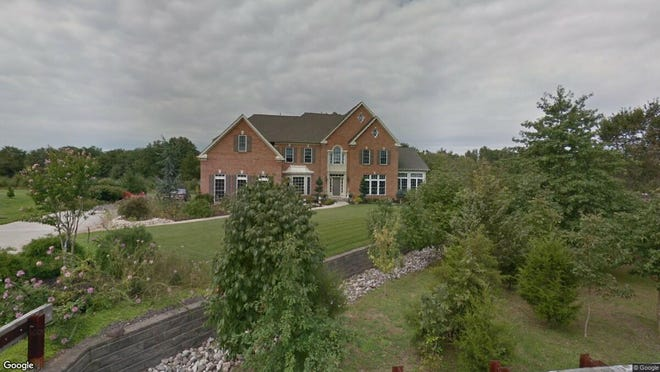 This Google Street View image shows the approximate location of 5 Barbieri Court in Franklin. The property at this address changed hands in January 2020, when new owners bought the property for $899,000.