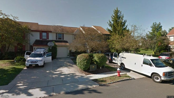 This Google Street View image shows the approximate location of 115 Eastwick Court in Hillsborough. The property at this address changed hands in February 2020, when new owners bought the property for $400,000.