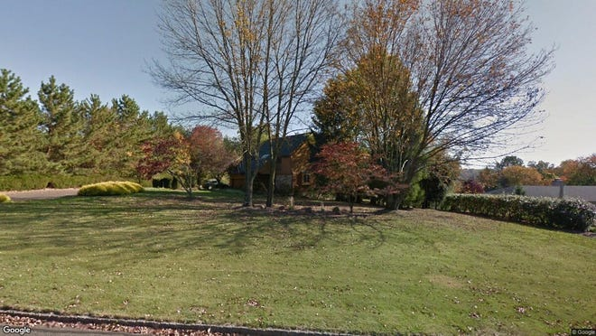 This Google Street View image shows the approximate location of 14 Ellsworth Drive in Warren. The property at this address changed hands in December 2019, when new owners bought the property for $765,000.