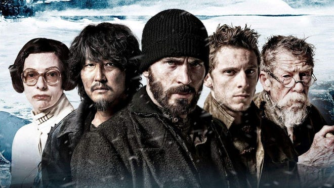 """Envision a frozen future where the only survivors circle the globe on a super train in """"Snowpiercer."""""""