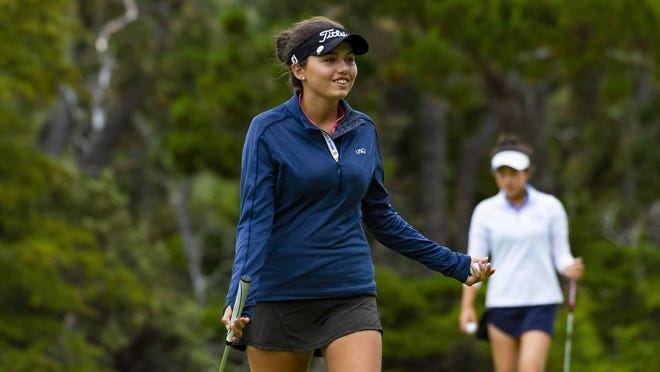 Alexa Pano shot a 4-over 76 Wednesday to miss advancing in match play at the U.S. Women's Amateur at Woodmont Country Club in Rockville, Maryland.