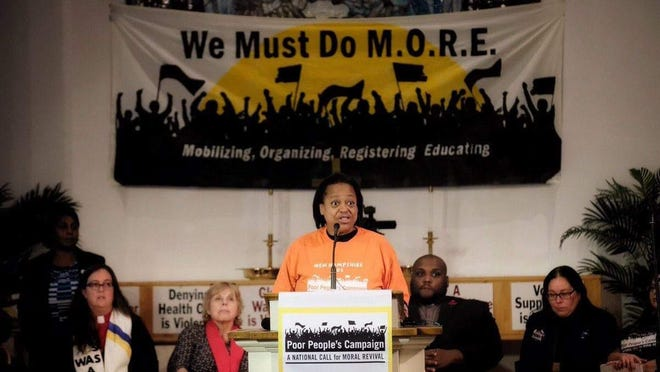 Deborah Opramolla, co-chair of the New Hampshire Poor People's Campaign, is co-hosting Black Lives Matter protest that will be more accessible to those in the disabled community next Friday in Portsmouth