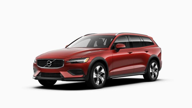 The 2020 Volvo V60 T5 AWD is a midsize by the U.S. government's definition with 93 cubic feet of space for passengers and 19 cubic feet for cargo behind the second row seat.