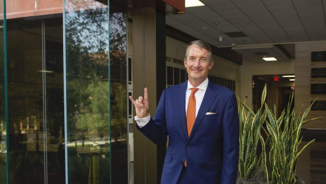 The UT System Board of Regents on Wednesday named Jay Hartzell permanent president of its flagship university in Austin. Hartzell has served as interim UT-Austin president since June.