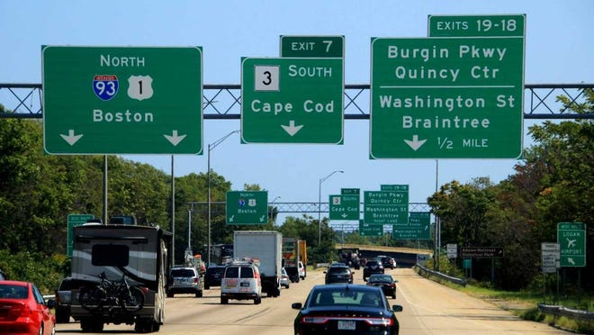 Starting in October, current exit numbers on most highways in Massachusetts switching to mileage-based exit numbers.